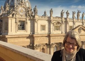 woman in vatican city