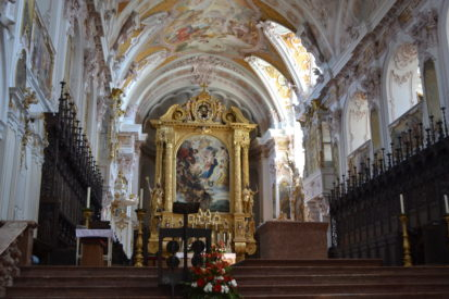 Inside Freising Cathedral