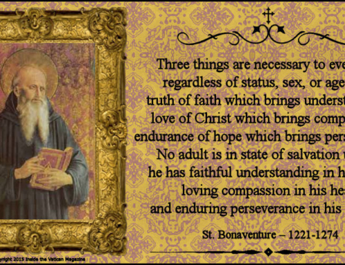 St. Bonaventure and a California Mission….