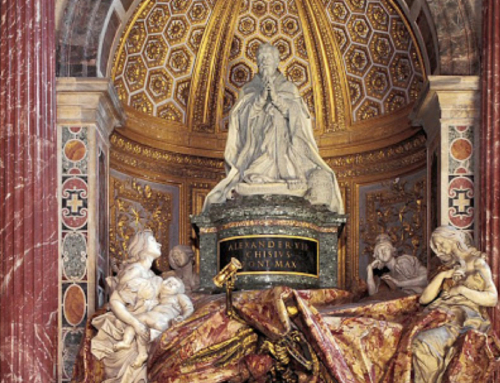 The Tomb of Pope Alexander VII