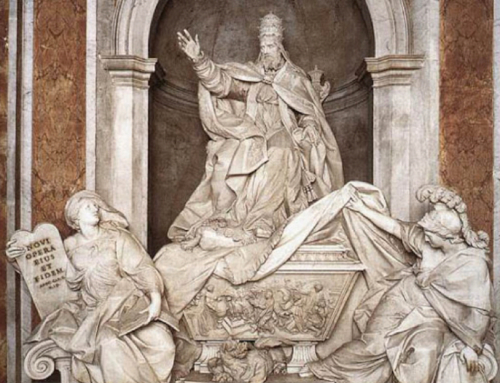 The Tomb of Pope Gregory XIII
