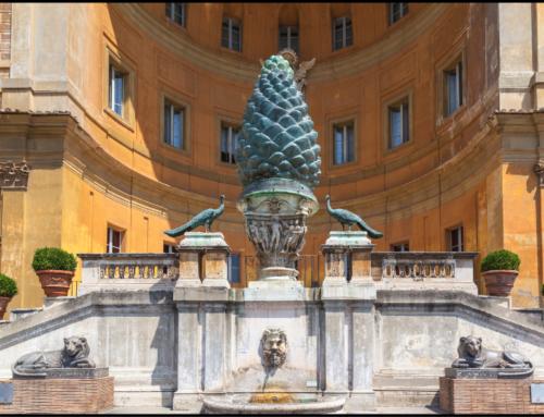 Vatican Museum: Pinecone Courtyard