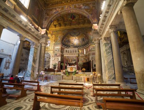 Rome's Titular Churches: St. Maria in Trastevere part 3